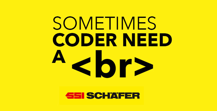 SSI Schaefer Sometimes coder