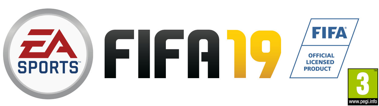 EA Games FIFA 19 with PEGI