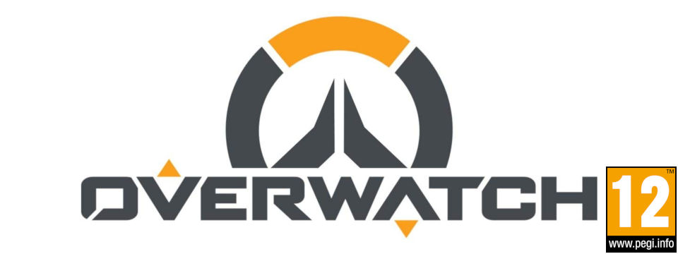 logo overwatch with PEGI