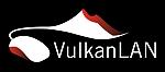 Vulkanlan Logo negativ 150px